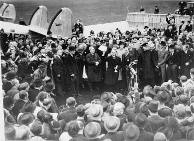 The Munich Agreement, 29 September 1938: Neville Chamberlain IMG