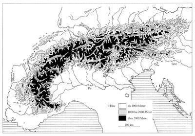 Relief der Alpen IMG