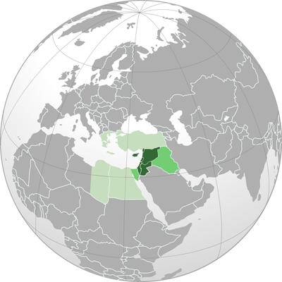 Die Länder der Levante