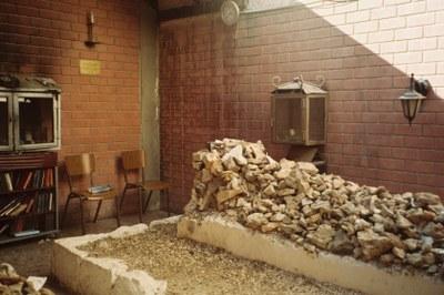 "Grab des Gerer ""Rebben"" Avraham Mordechai Alter (1866–1948) in Jerusalem, Farbphotographie, 2010, Matthias Morgenstern."