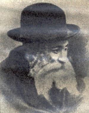 Porträt des Gerer Rebben R. Arjeh Löb ben Abraham Mordechai Alter; Bildquelle: Jüdisches Lexikon, Berlin 1927, vol. II, Sp. 1026.