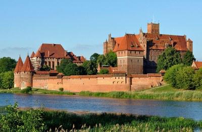 Die Ordensburg Marienburg
