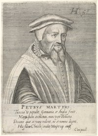 Hendrik Hondius I (1576–1650), portrait of Peter Martyr Vermigli (1499–1562), engraving, 1599; source: Rijksmuseum, Amsterdam, https://www.rijksmuseum.nl/en/collection/RP-P-1908-3865.