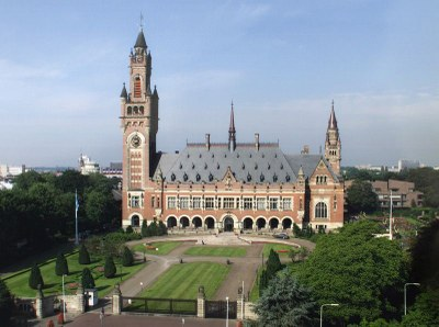 The Peace Palace in The Hague, Netherlands IMG