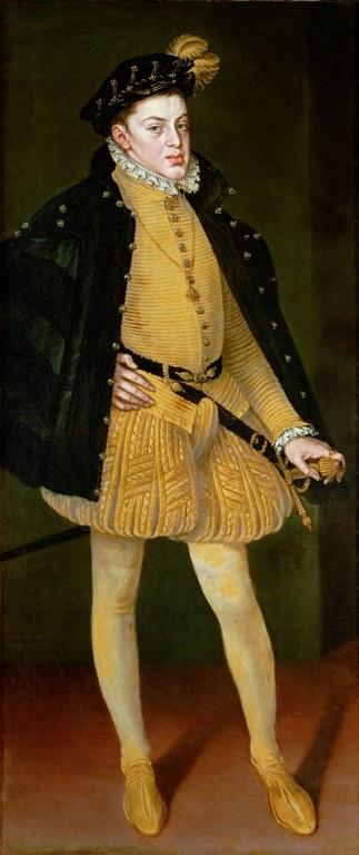 Alonso Sánchez Coello (1515-1590), Der Infant Don Carlos, Öl auf Leinwand, 1564; Bildquelle: Kunsthistorisches Museum Wien.