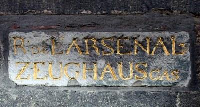 Rue de l'Arsenal / Zeughausgasse in Köln IMG