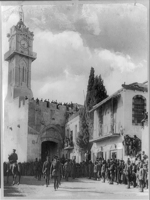 General Allenby's entrance into Jerusalem