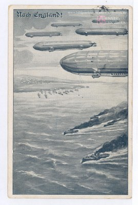 Nach England! – Zeppeline über dem Ärmelkanal