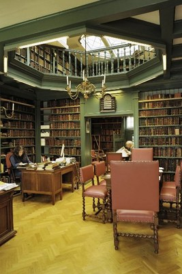 Ets Haim (Tree of Life) library of the religious school of the Sephardic Jewish community in Amsterdam IMG