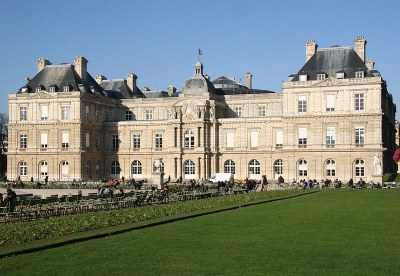 Palais du Luxembourg, Paris, unbekannter Photograph, 2009; Bildquelle: Wikimedia Commons, http://commons.wikimedia.org/wiki/File:Palais_du_Luxembourg_Paris.jpg