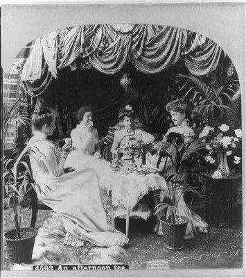 An Afternoon Tea 1901 IMG