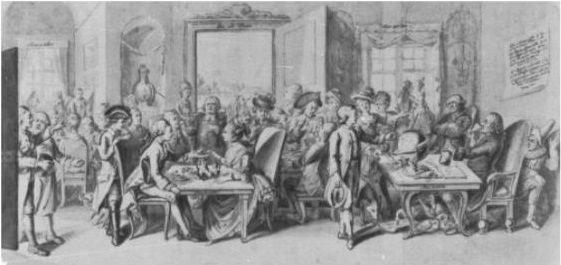Öffentliches Kaffeehaus 1750/1800 IMG