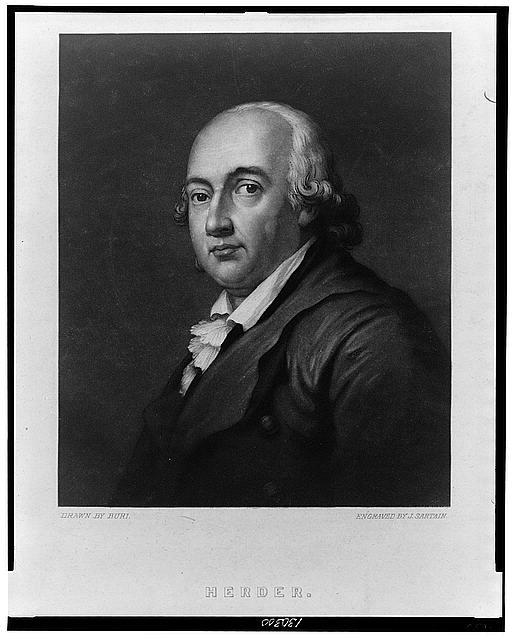 John Sartain (1808-1897), Portrait Johann Gottfried Herder (1744–1803), Mezzotinto nach einer Zeichnung von Buri, ohne Datum [zwischen 1828 und 1880]; Bildquelle: Library of Congress, Prints and Photographs Division, http://hdl.loc.gov/loc.pnp/cph.3c30300.