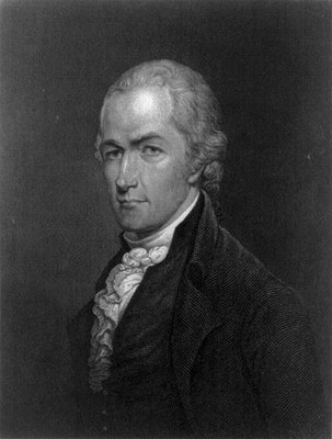 E. Prud'homme, Alexander Hamilton (1757–1804), engraving, 1835, after a miniature by Archibald Robertson (1765–1835); source: Library of Congress, LC-USZ62-48272. http://www.loc.gov/pictures/item/2004672093/, public domain.