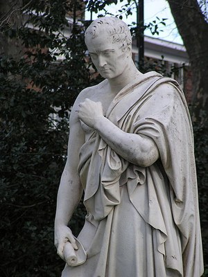 John Gibson (1790–1866), William Huskisson (1770–1830), marble sculpture, London, undated, photographer: James Gray; source: Wikimedia Commons, http://commons.wikimedia.org/wiki/File:WilliamHuskissonPimlicoDetail.jpg.  Creative Commons Attribution-Share Alike 3.0 Unported
