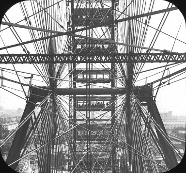 Riesenrad auf der World's Columbian Exposition 1893  IMG