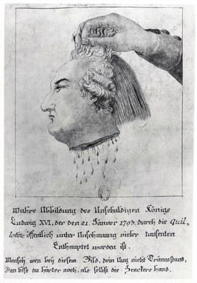 """""""Wahre Abbildung des unschuldigen Königs…"""" 1793 IMG"""