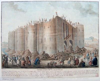 """""""Zerstörung der Bastille"""" 1789 IMG"""