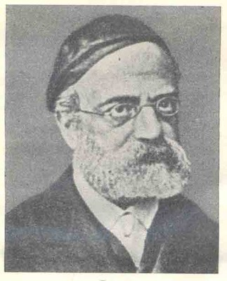 Portrait von Samson Raphael Hirsch (1808–1888), unbekannter Künstler; Bildquelle: Jüdisches Lexikon, Berlin 1928, vol. 2, Sp. 1621.