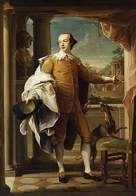 Portrait von Sir Wyndham Knatchbull-Wyndham (1737–1763) IMG