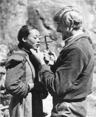 Craniometrie: Tibet-Expediton, 1938