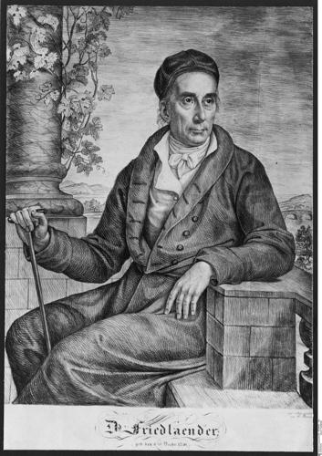Portrait von David Friedländer (1750–1834), Radierung, Anfang 19. Jh., unbekannter Künstler; © Bildquelle: Bildagentur für Kunst, Kultur und Geschichte (bpk); Bildnummer 10008890.
