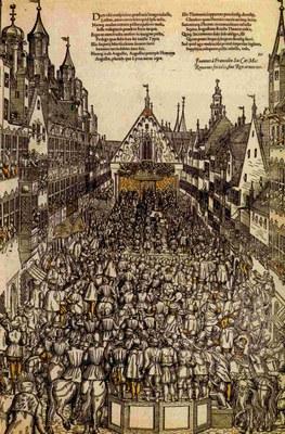 Die Belehnung Augusts von Sachsen am Reichstag 1566