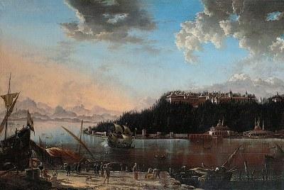 Hans de Jode (ca. 1630–1663), Die Serailspitze in Konstantinopel, 1659