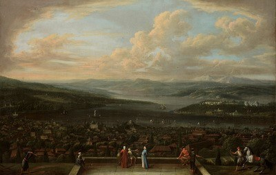 Jean-Baptiste Vanmour (1671–1737), View of Istanbul from the Dutch Embassy at Pera, ca. 1720–1737 IMG