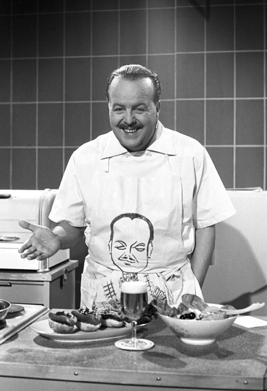 TV-Koch Clemens Wilmenrod 1955, Bildquelle: Mit freundlicher Genehmigung der NDR, © NDR