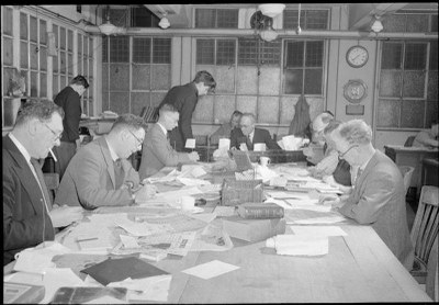 """Die Redaktion der """"Daily Mail"""" 1944 IMG"""