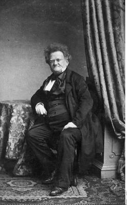 Unbekannter Photograph, Gabriel Riesser [1806 - 1863], Politiker, Vorkämpfer der Judenemanzipation in Deutschland, um 1860; Bildquelle: Bildagentur für Kunst, Kultur und Geschichte (bpk);  Bildnummer 10005697.