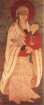 Chinesische Madonna mit Kind, unbekannter Künstler, Shaanxi, China, späte Ming-Zeit; Bildquelle: © The Field Museum, #A114604_02d