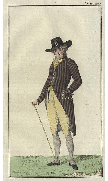 """""""Englischer Herr von neuester Mode"""" 1786 IMG"""