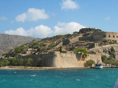 Ehemalige Leprakolonie auf der Insel Spinalonga