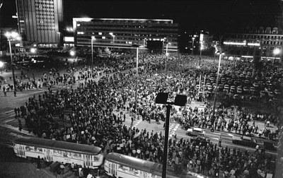 Montagsdemonstration, Leipzig 1989