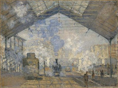 La gare Saint-Lazare IMG
