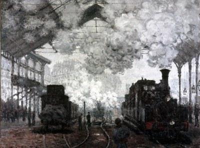 La Gare Saint Lazare IMG