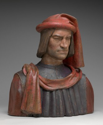 Posthumous bust of Lorenzo de' Medici