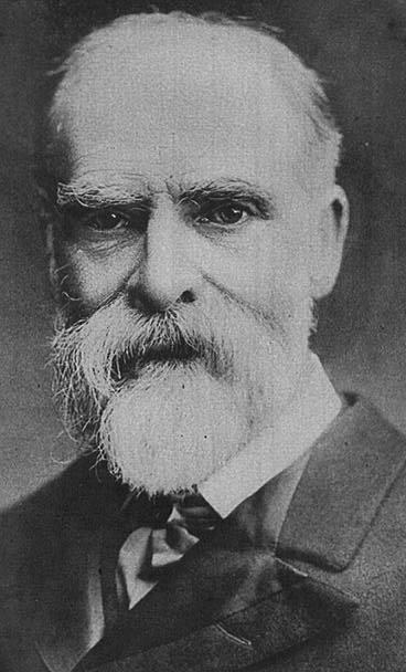 Portrait von James Bryce (1838–1922), Schwarz-Weiß-Photographie, 1914, unbekannter Photograph; Bildquelle: Current History of the War, New York, 1914; The University of Texas at Austin, http://lib.utexas.edu/exhibits/portraits/index.php?img=59.
