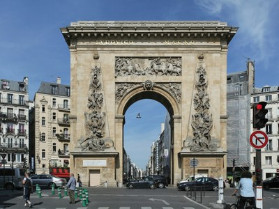 Porte Saint-Denis, Paris IMG