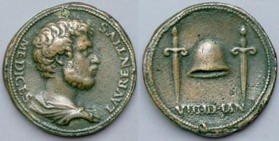 Renaissance Medal Lorenzino de Medici's assassination of cousin Alessandro IMG