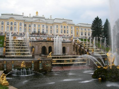Photograph: unbekannt, Bildquelle: Wikimedia Commons, http://commons.wikimedia.org/wiki/File:PeterhofGrandCascade.JPG?uselang=de
