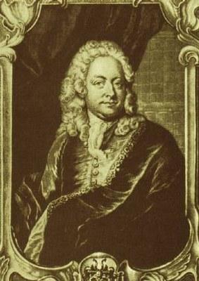 Johann Jacob Haid (1704-1767), Johann Mattheson (1681–1764) nach einem Gemälde von J. S. Wahl, Kupferstich, 1746; Bildquelle: http://commons.wikimedia.org/wiki/File:Johann_mattheson.jpg(vormals Sammlung Andre Meyer).
