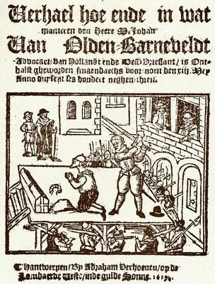 Abraham Verhoeven (1575–1652), Nieuwe Tijdinghen, illustrierte Textseite, Antwerpen 1623; Bildquelle: Koninklijke Bibliotheek van Nederland, KW 3089 G 1 [-2].
