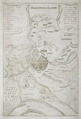 Karte der Stadt Kazan IMG