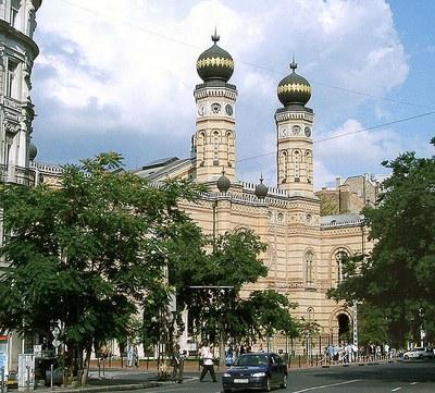 Große Synagoge in Budapest IMG