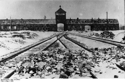 Konzentrationslager Auschwitz 1945 IMG