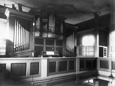 Orgel im Jacobstempel