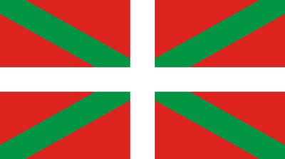 Flagge der autonomen Region Baskenland, Bildquelle: Wikimedia Commons, online: http://commons.wikimedia.org/wiki/File:Flag_of_the_Basque_Country.svg?uselang=de